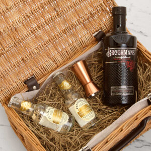 Personalised Brockman's Gin Gift Hamper