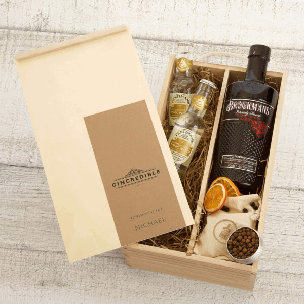 Brockmans Gin Gift Box