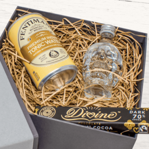 Personalised Crystal Vodka Miniature Mother's Day Kit