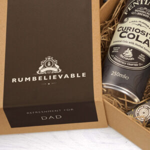 Personalised Dead Man's Fingers Father's Day Mini Rum Kit
