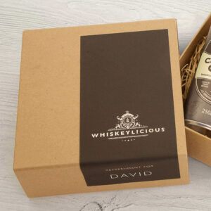 Personalised Glenfiddich 18 Year Single Malt Mini Whiskey Kit