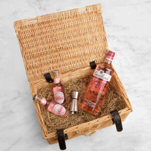 Personalised Gordon's Pink Gin Gift Hamper