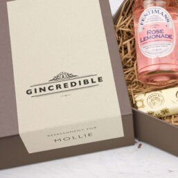 Personalised Gordon's Mini Pink Gin Kit