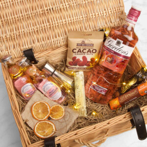 Personalised Gordon's Premium Pink Gin Gift Hamper