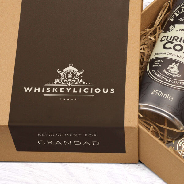Personalised Jack Daniels Father's Day Mini Whiskey Kit