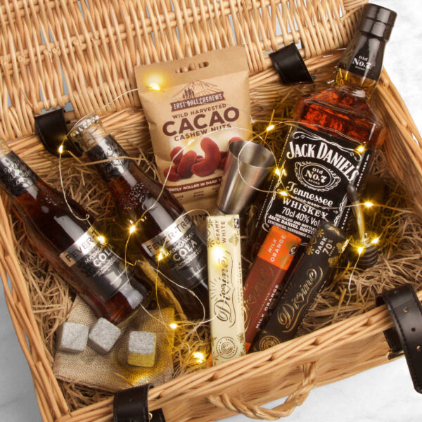 Personalised Jack Daniels Whiskey Father's Day Premium Gift Hamper