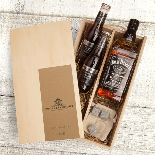 Jack Daniels Whiskey Gift Box