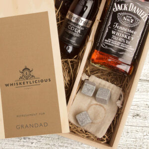Personalised Jack Daniels Bourbon Tennessee Whiskey Gift Box