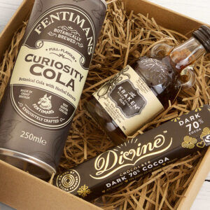 Personalised Kraken Mini Rum Kit