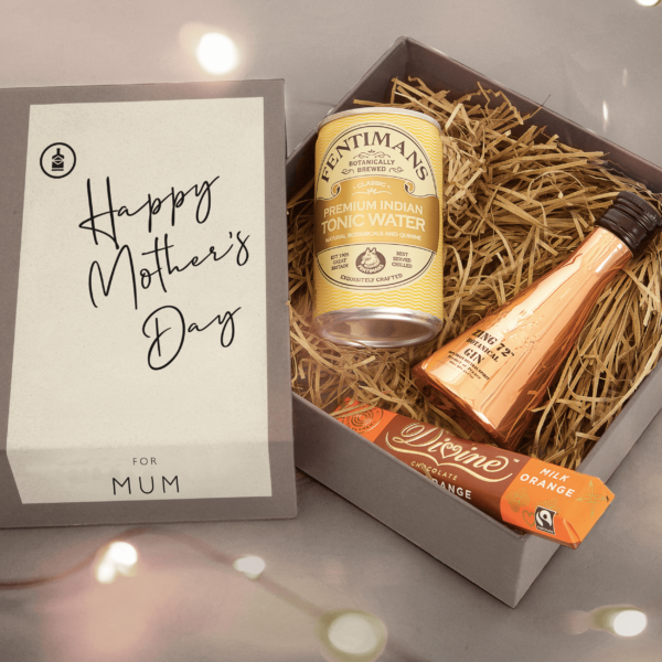 Personalised Zing 72 Mini Mother's Day Gin Kit