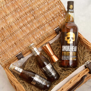 Personalised Smokehead Single Malt Whiskey Gift Hamper