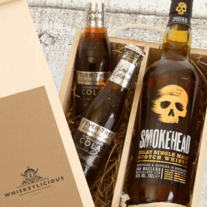 Personalised Smokehead Single Malt Whiskey Gift Box