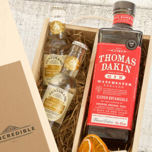 Personalised Thomas Dakin Gin Gift Box
