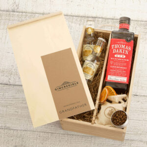 Personalised Thomas Dakin Gin Father's Day Gift Box