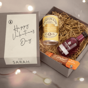 Personalised Whitley Neill Mini Valentine's Day Gin Kit