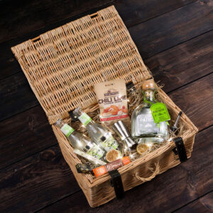 Personalised Patron Silver Tequila Hamper