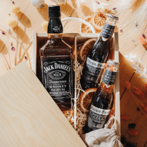 Personalised Father's Day Jack Daniels Bourbon Tennessee Whiskey Gift Box | SpiritSmith
