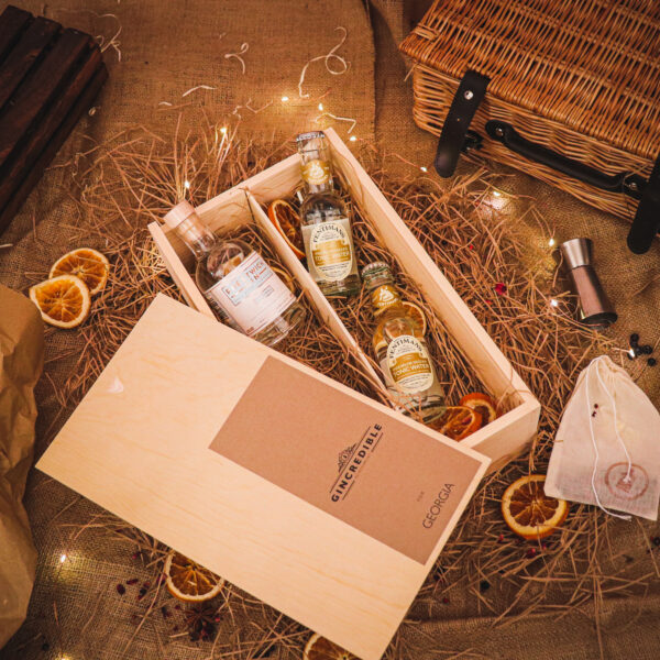 Personalised Prestwich Gin Gift Box