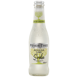 Fever Tree Mexican Lime Soda - 200ml bottle