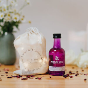 Whitley Neill Rhubarb and Ginger Wedding Favour Miniature - 5cl 43%ABV