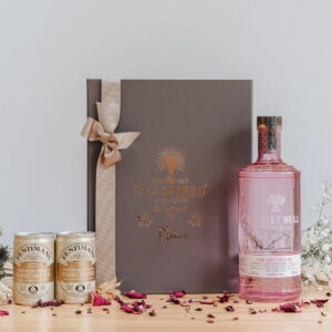 Personalised Whitley Neill Pink Grapefruit Gift Box With Fentimans Tonics.