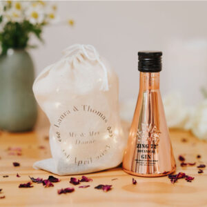 Zing 72 Gin Wedding Favour Miniature 5cl 40% ABV